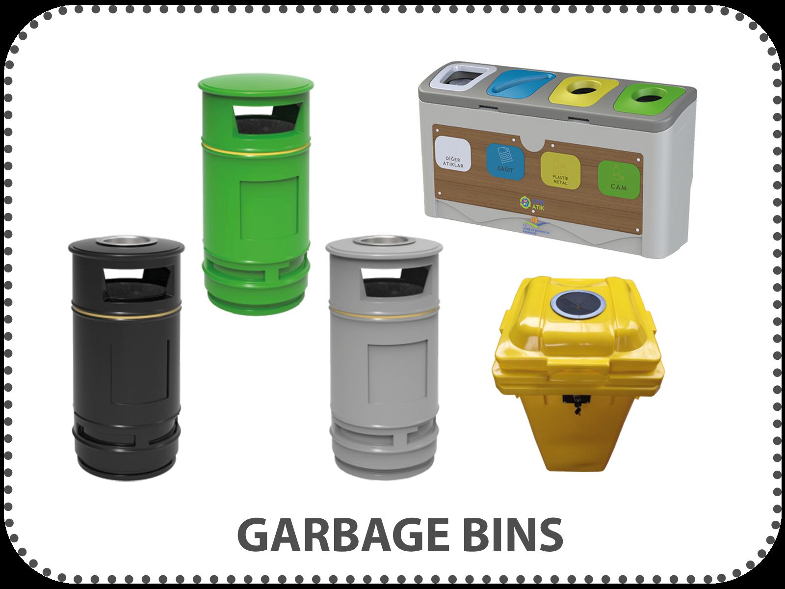 garbage-bins